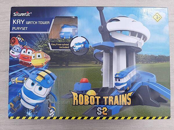 Игровой набор Silverlit Robot trains Сторожевая башня 80189 Нюанс