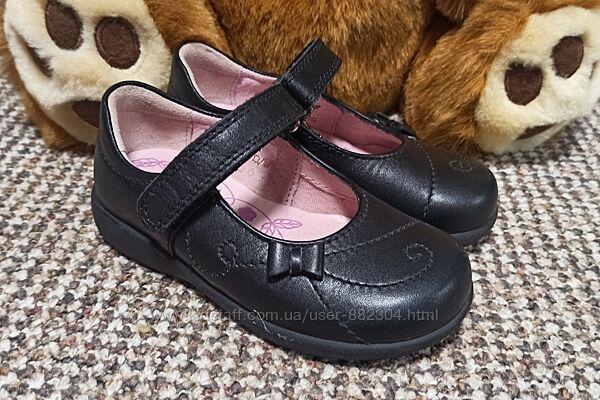 Туфли на девочку start rite. размер 23 15,5 см натуральная кожа