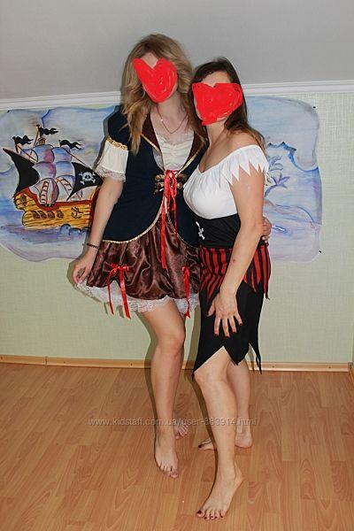 Карнавальный костюм пиратки 44-46 р. Идеальное состояние.