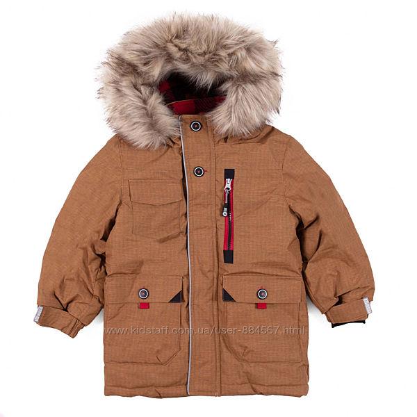 Зимняя парка для мальчика NANO, Канада. Размеры 127-158