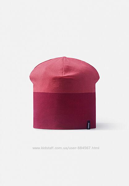 Демисезонная шапка для девочки Reima. Размеры  48 - 58