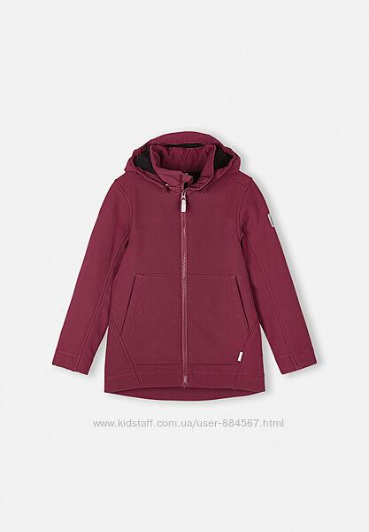 Куртка для девочки Reima Softshell Espoo. Размеры 104 - 164