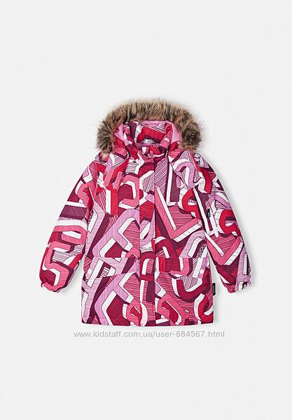 Куртка зимняя для девочки Lassie Seline. Размеры 92 - 140