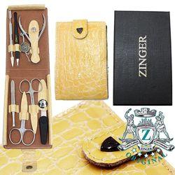 Маникюрный набор Zinger профессиональный 7 предметов Зингер инструмент глян