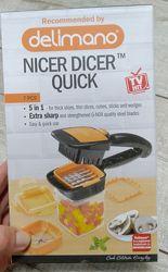 Nicer Dicer Quick 5 в 1 delimano- набор для шинковки и быстрого нарезания