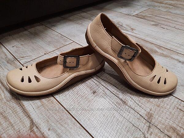 Кожаные туфли Clarks. Состояние новых