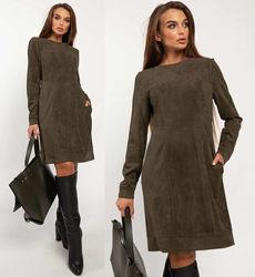 Платье женское короткое приталенное демисезонное Дидиан