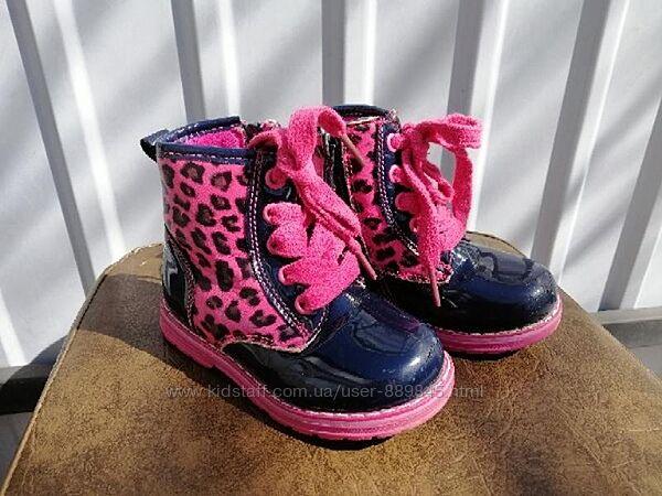 Демисезонные ботиночки для девочки Clibee