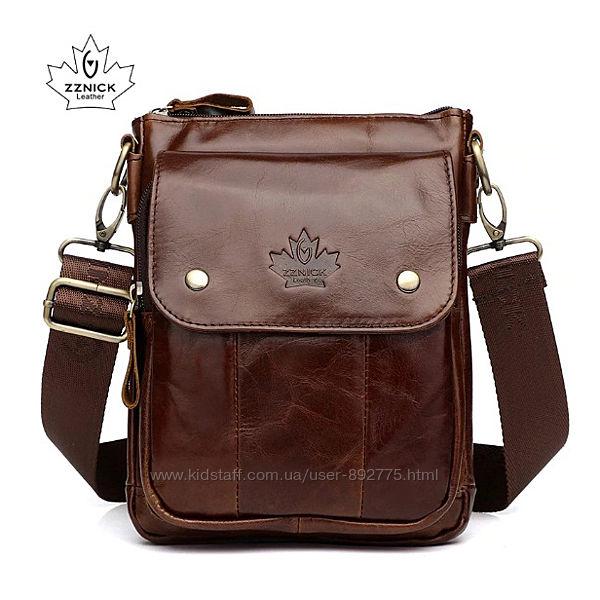 Мужская сумка барсетка iPad Bag из натуральной кожи