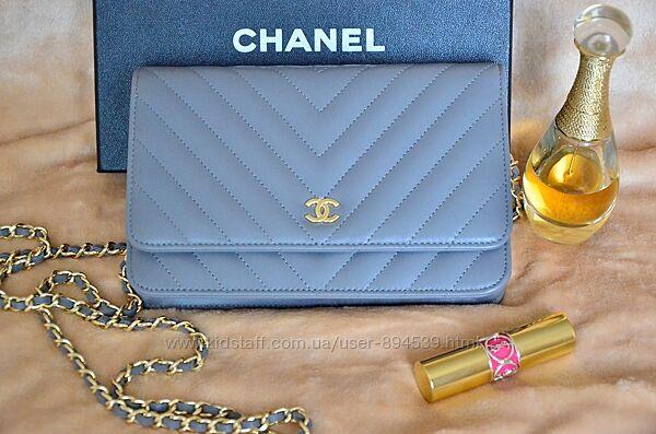 Люксовая женская сумочка chanel woc