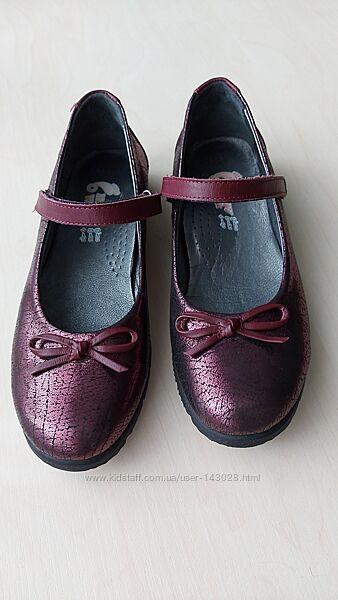 Туфли-лодочки на липучке