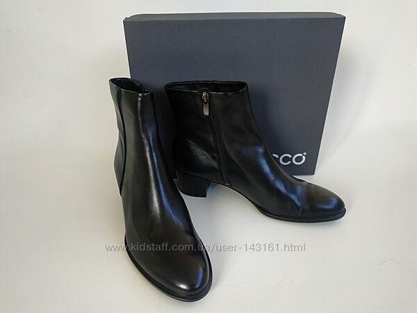 Ботинки ботильоны Ecco оригинал натуральная кожа