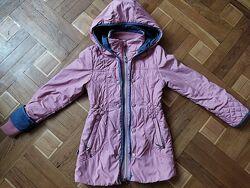 Качественная демисезонная курточка на девочку р.134