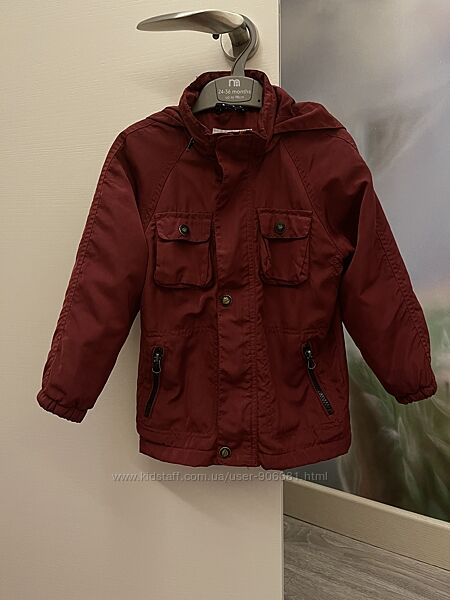 Курточка ветровка мальчику Mango на 4-5 лет