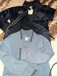 куртка ветровка и кофта фирменный комплект
