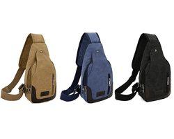 ХИТ Мужская сумка слинг сумка через плечо, мини рюкзак бананка