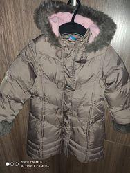 Тёплое зимнее пальто Adams kids ,98 см