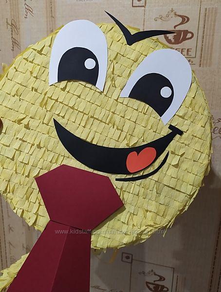 Пиньята , пиньята Смайл с галстуком , пиньята в Мариуполе