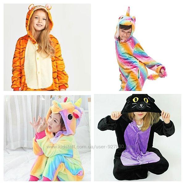 Кигуруми пижама Единорог Пикачу  Стич