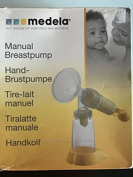 Механический молокоотсос Medela manual breastpump