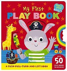 Детская книга на английском Tiny Tots My First play book
