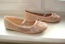 Балетки туфли Primigi 36 р. , стелька 22,5 см, одеты 1 раз