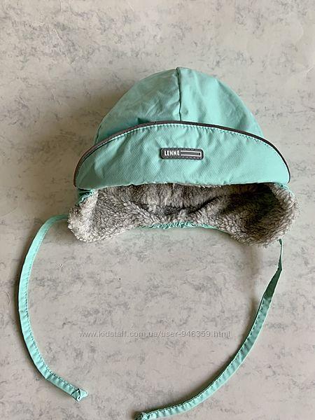 Зимняя шапка-ушанка Lenne