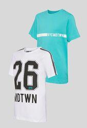 Комплект футболок для підлітків від C&A Німеччина