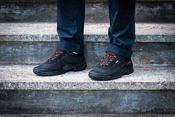 Мужские кроссовки спорт черная болонка Z-402