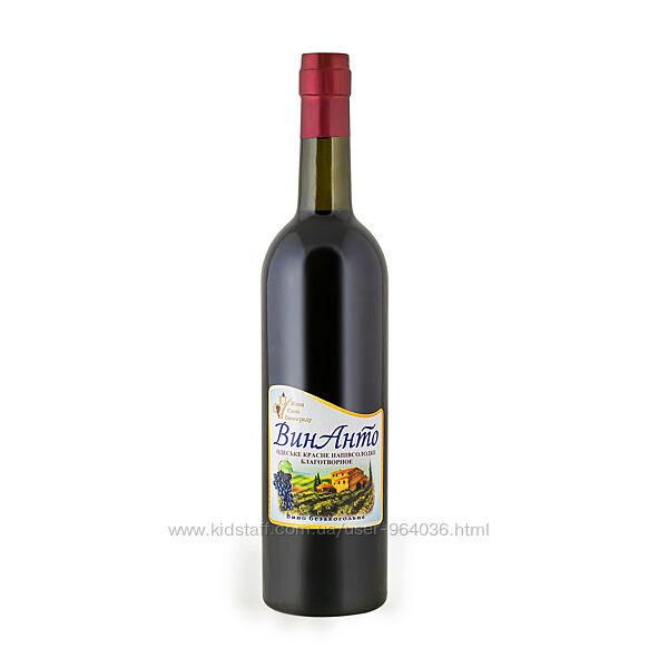 Безалкогольное вино ВинАнто 0.75 л стекло