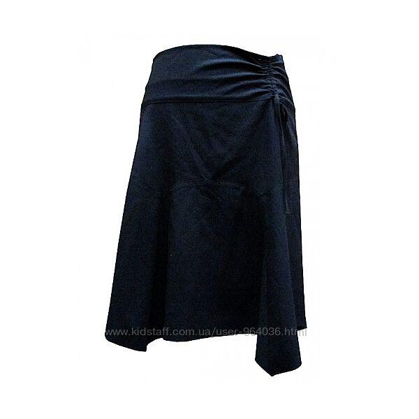 Юбка для беременных черная  2702