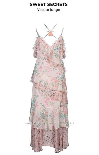 Платье в пол оригинал Италия Sweet Secrets новое с бирками 44-46