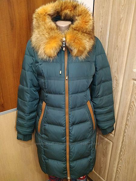 Пуховая классическая куртка