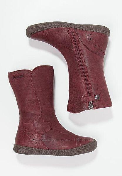 Кожаные сапоги Primigi Britte натуральная шерсть, размер 28, 29, 30