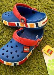 Детские Кроксы Crocs Crocband Lego