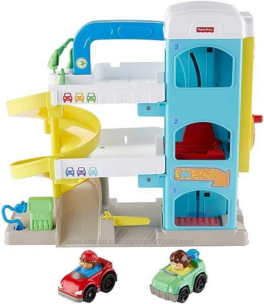Гараж Фишер-Прайс Fisher-Price Little People the Helpful Neighbor&acutes Garage