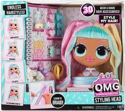 ЛОЛ голова манекен LOL Surprise OMG Styling Head Candylicious