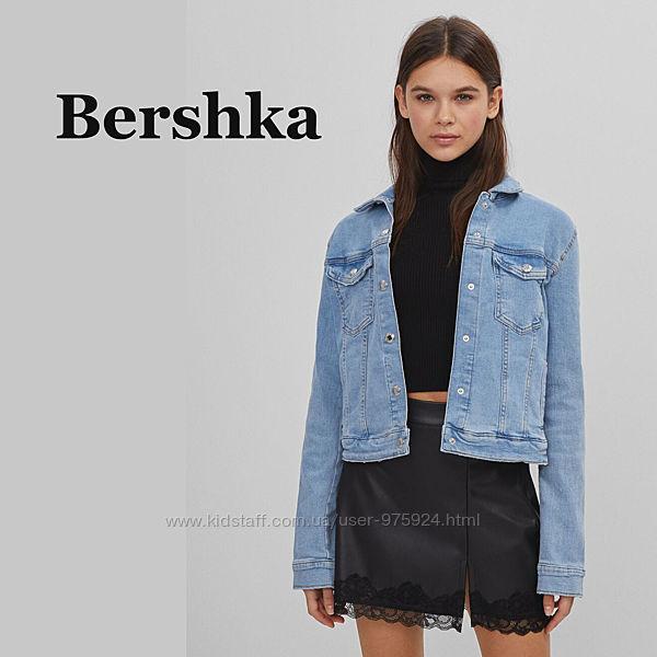 Женская джинсовая куртка Bershka