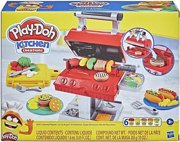 Набор для лепки Гриль Play Doh Kitchen Creations Grill n Stamp плей до