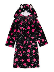 Махровый халат для девочки котик Chili Peppers США