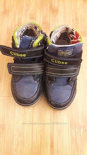 Ботинки Clibee 27р демисезон кожа