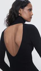 Кофточка Zara с вырезом на спинке размер s подойдёт и на xs