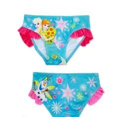 Плавки для девочек Дисней , фирменные  , с Анной и Эльзой , Disney