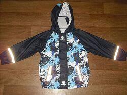 Прорезиненная куртка - дождевик Lupilu  р. 110- 116