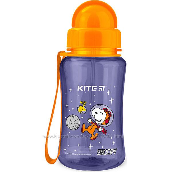 Качественные пластик. бутылочки для воды 350 мл. ТМ Kite 4 цв. арт. K21-399