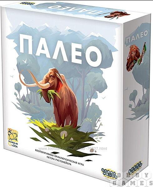 Настольная игра Палео и дополнение