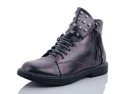 Ботинки klf графит р. 33 - 21 см