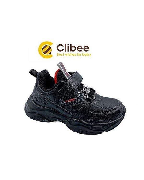 New Кроссовки Clibee black р.27-32 для мальчика