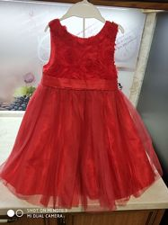 Шикарные нарядные фирменные платья на 3-5 лет