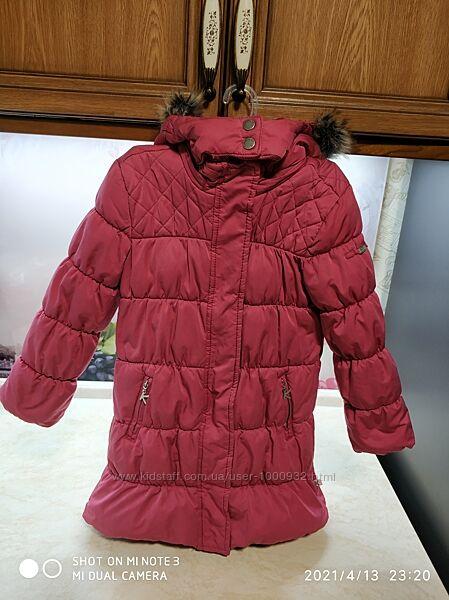 Шикарное Пальто куртка Kanz Германия р.110, 5 лет в идеале